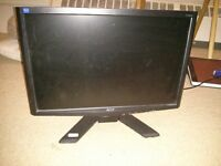 """Acer 19"""" X193W LCD monitor for sale"""