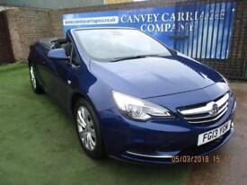 2013 Vauxhall Cascada 1.4 i Turbo VVT 16v SE (s/s) 2dr