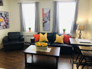 Deluxe 1 Bdrm Fully Furnished Apt Downtown Ch'town Avail Oct 1st