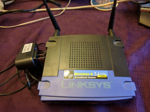 Linksys Wrt-54G router