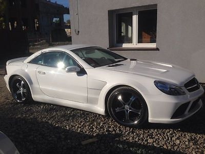 Mercedes-Benz SL R230 R 230 55 63 65 AMG Black-Series Look Bodykit Spoiler