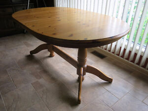 Dining Room Table-Distressed Pine