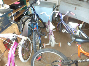 All sizes bikes kids adult 12 inch to 28 inch