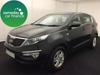 £231.44 PER MONTH KIA SPORTAGE 1.6 GDI 1 STATION WAGON 5 DOOR PETROL MANUAL