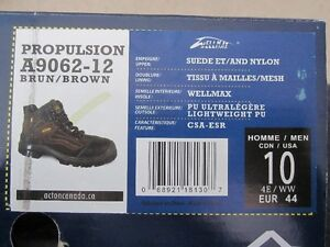 Men's Size 10 Acton CSA approved workboots - Brand New