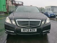 2013 Mercedes-Benz E Class E250 CDI BlueEFF Avantgarde 4dr Tip Auto [7] SALOON D