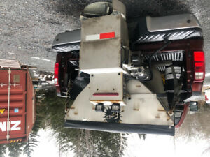 2016 Fisher XV2 Stainless V-Plow And Salter
