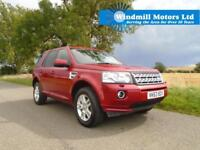 2013/63 LAND ROVER FREELANDER 2 2.2 TD4 XS STATION WAGON 4X4 AUTOMATIC 5DR RED
