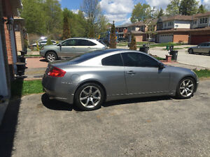 2005 Infiniti G35 Coupe (2 door) $4200 firm