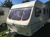 Caravan 4/5/6 berth Lunar Meteor 1999 fantastic condition awning available at additional cost