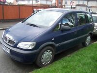 Zafira Diesel 7 seater- Tested to 8th April next year - only £595