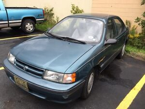 1994 Toyota Tercel 4 door sedan - FURTHER REDUCED!