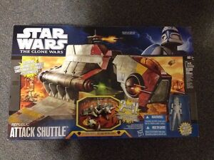 Star Wars Attack of the Clones Republic Attack Shuttle