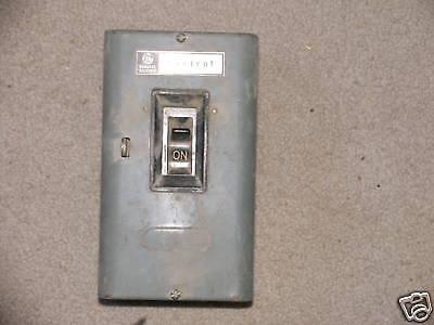 Ge Manual Motor Starter Switch Cr1062r2b