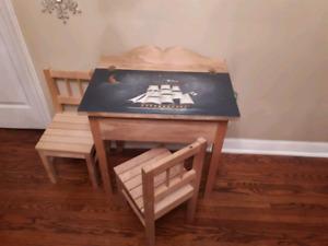 High Quality Wooden Toddler Desk