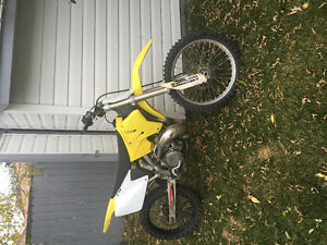 2002 Suzuki Rm 250 for sale