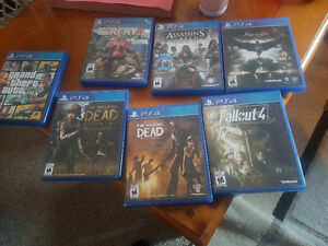 Ps4 games all new condition