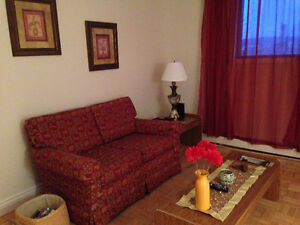 Daily Rental of 2 bedroom apartment near HSC/MUN/Mall