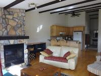furnished 2 bedroom plus office-lakefront