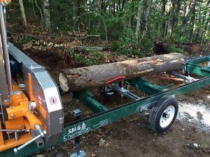 Sawmill service