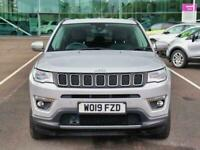 2019 Jeep Compass 1.4 Multiair 140 Limited 5dr [2WD] 4x4 Petrol Manual