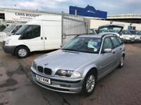 2001 Y BMW 3 SERIES 320D TOURING ESTATE STACK OF SERVICE HISTORY NEW MOT