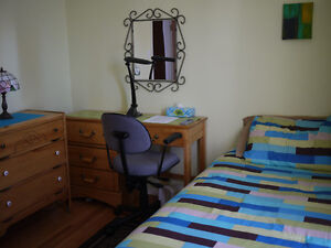 Ultra clean and quiet -Furnished Room for Rent Central, all inc