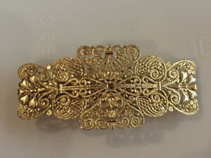Beautiful Hairclip Top quality  Gold colour  Must See!