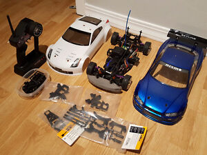 HPI Sprint 2 Sport / Drift with upgrades and bodies