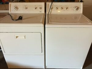 Kenmore Heavy Duty King Size Capacity Washer and Dryer