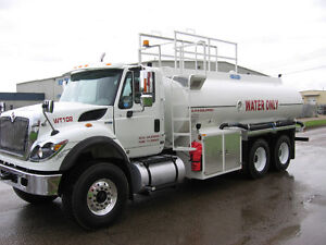 Water Trucks for Rent - SUMMER CONSTRUCTION READY