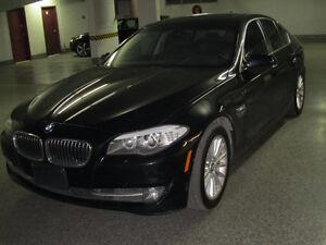 2011 BMW 535X1 black Sedan