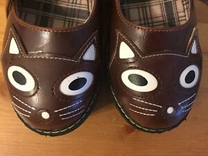 Oasap Kitty Mary Jane shoes