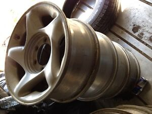 """4 16"""" factory rims for 2004 Toyota Tundra"""
