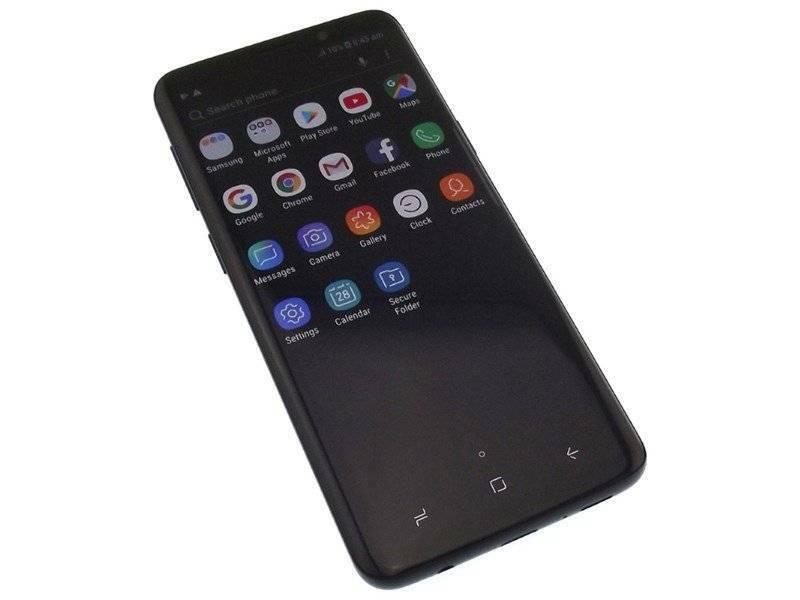 Samsung Galaxy S9 Sm-G960f 64Gb Black   Android Phones
