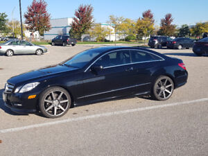 2011 Mercedes-Benz E-Class E550 Coupe w/AMG Sport Package