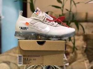 Nike vapormax offwhite white