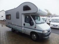 Ace napoli motorhome for sale four berth