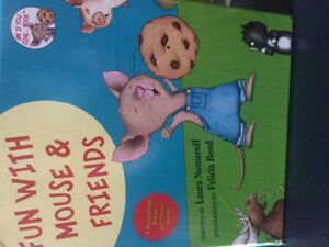 Books if you take a mouse to school
