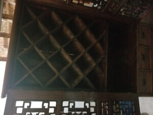 Selling antique wine cabinet