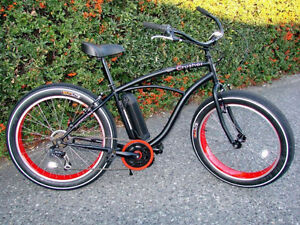 FAT BIKE ON SALE!  Electric Fat Tire Beach Cruiser North Shore Greater Vancouver Area image 1