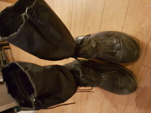 Baffin size 13 steel toe insulated boots