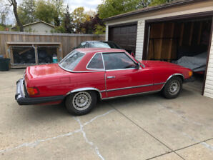 Convertible 450 Sl in great condition well maintained