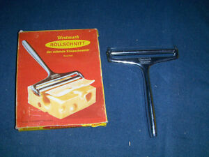 VINTAGE WESTMARK ROLLSCHNITT-CHEESE CUTTER-1961-UNUSED IN BOX!