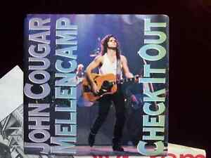 Springstein & Mellencamp 45 Vinyl Records, all 4 for $15 Cambridge Kitchener Area image 2