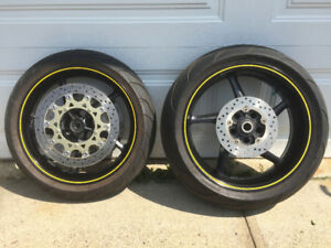 2006 Yamaha R1 wheel set