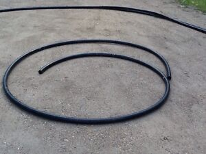 "124 feet 2"" black plastic piping Strathcona County Edmonton Area image 4"
