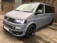 Volkswagen T5 Transporter Campervan 2015 | Gunmetal Grey | Bluetooth | 32k miles