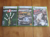 GET 5 XBOX360 GAMES FOR ONE PRICE OF $20.00