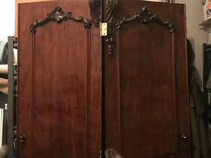 Antique Solid Rosewood doors.